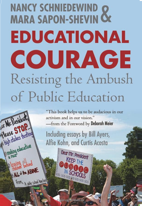 Educational Courage book cover