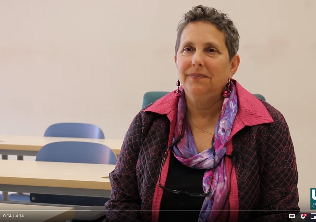 Mara speaking at Universidad de Cantabria